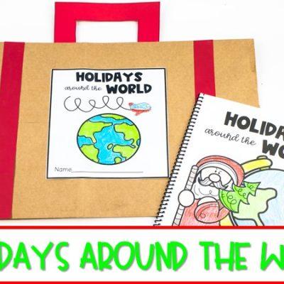 Explore Holidays Around the World in Kindergarten and First Grade