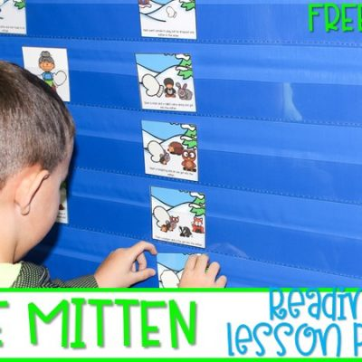 The Mitten | Reading Comprehension Lesson Plans – FREEBIE
