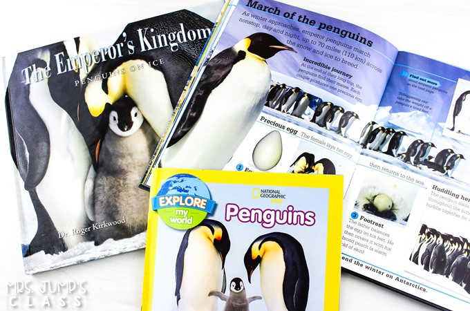 Engaging Penguin activities and videos. Students will enjoy reading and writing about penguins, doing a science experiment, and making a craft.