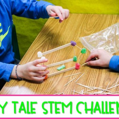 Fairy Tale STEM Challenges and Math Activities for K-2