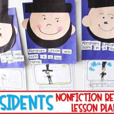 President's Day Activities | Read Aloud Lesson Plans