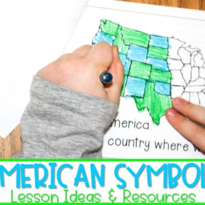 American Symbols Activities and Resources for Kindergarten & First Grade