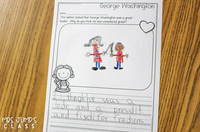 Fun President's Day activities! Nonfiction reading comprehension lesson plans for K-2. Students learn about Abraham Lincoln and George Washington.