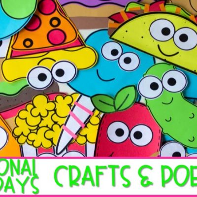 Fun and Easy Crafts and Poems to Celebrate National Holidays