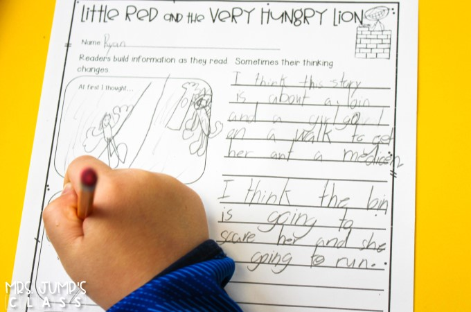 Little Red and the Very Hungry Lion reading lesson plans and activities that your students will love! Have fun teaching with these engaging ideas!