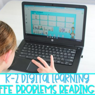 Digital Learning Reading Lessons for K-2 | Giraffe Problems