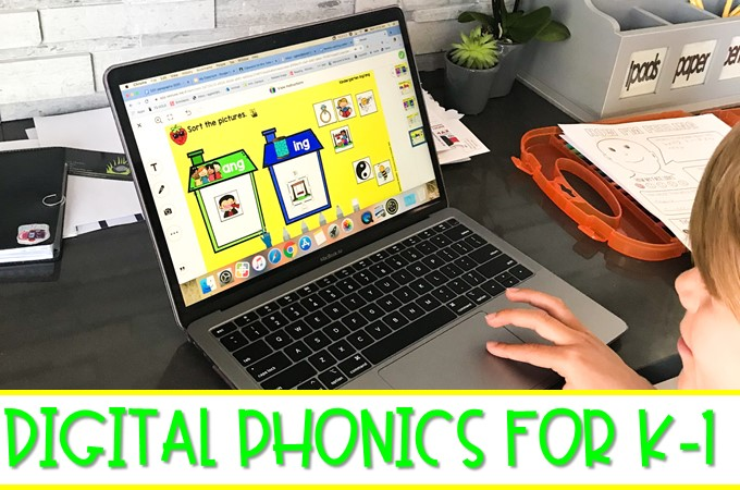 A full year of digital phonics activities for K-1! These are preloaded into Seesaw and available in a PowerPoint format to easily send out to students.