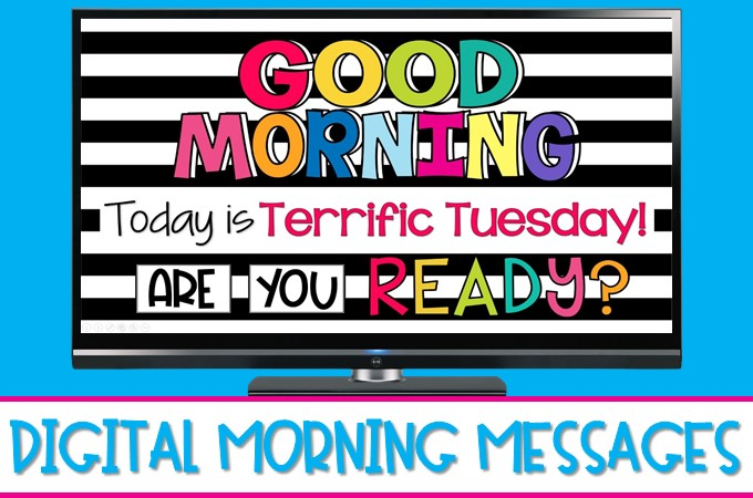 Digital morning messages are a fun way to review and practice literacy and math skills each day. Plus, they are easy to use on video conferencing platforms for virtual learning.
