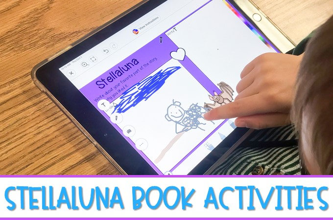 Stellaluna book activities that are available in a printable and digital format. Students respond to literature and develop reading comprehension skills.