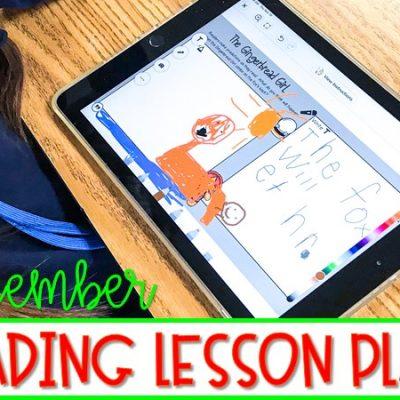 K-2 Reading Lesson Plans for December | Seesaw and Google Slides