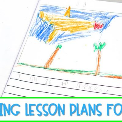 Writing Lesson Plans for Kindergarten & First Grade