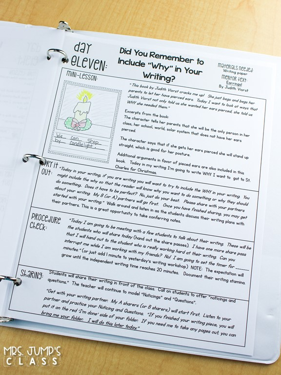 Writing lesson plans for the entire year! Complete writing units to help you teach writing in kindergarten and 1st grade.