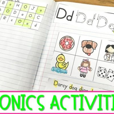 Phonics Lessons and Activities for Kindergarten & First Grade