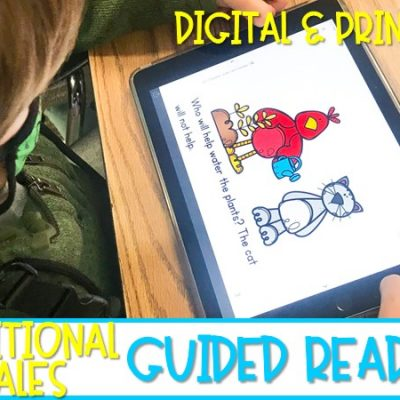Guided Reading Lessons and Activities for your Favorite Traditional Tales
