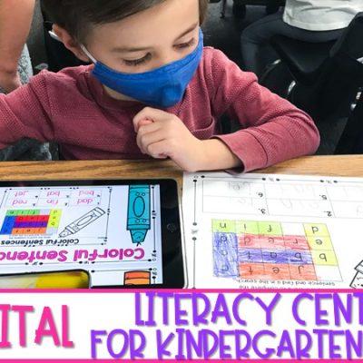 The Best Digital Literacy Centers for Kindergarten & 1st Grade