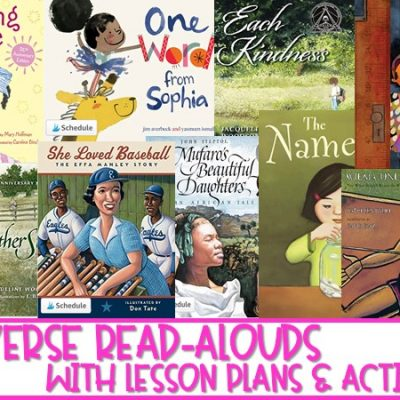 9 Diverse Read Alouds with Lesson Plans and Activities for K-2