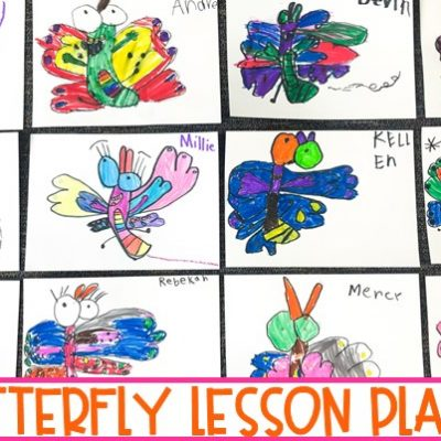 Butterfly Lesson Plans | Digital & Printable Reading Response for K-2