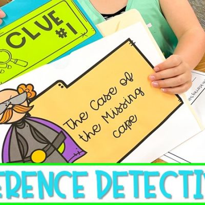Engaging Inference Lesson for Kindergarten and First Grade