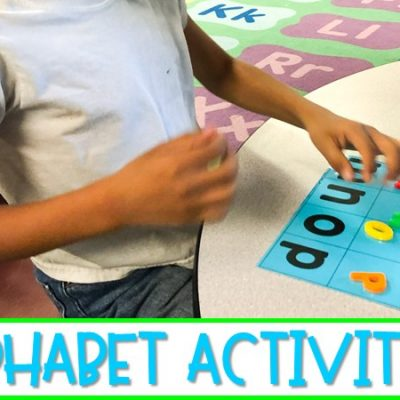 Fun and Engaging Alphabet Activities for Kindergarten | Free File!