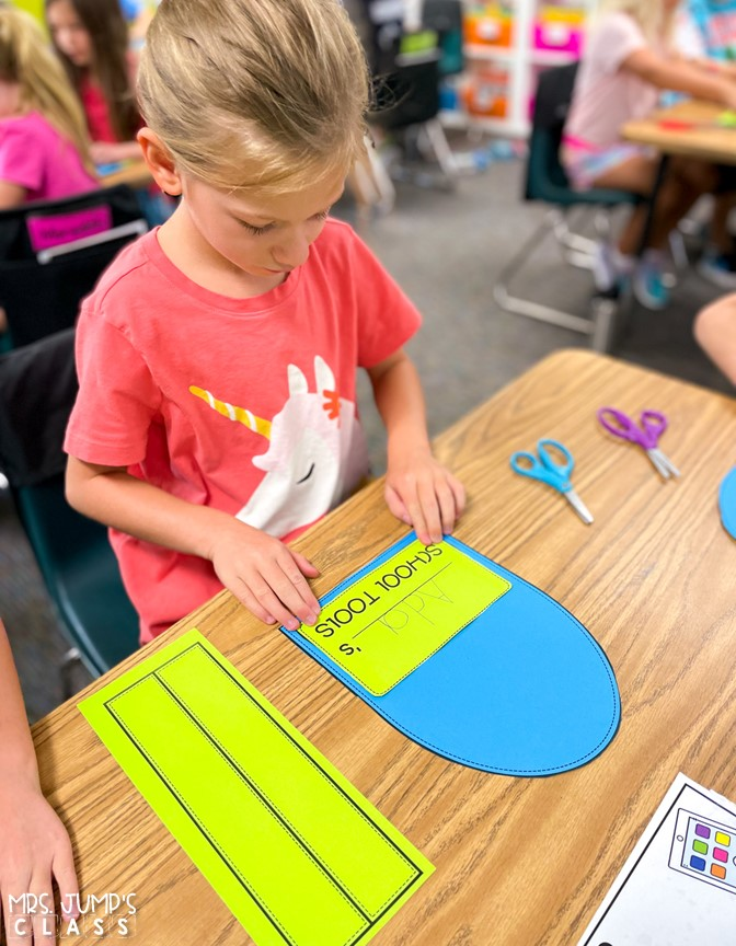 Back to School activities for kindergarten, 1st, 2nd grade. Open house resources, schedule cards, songs and chants, crafts, and so much more!